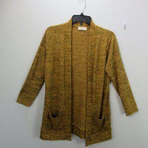 Riah fashion Long Sleeve Cardigan with pockets SM